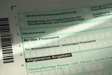 Steuervorteilsberechnung
